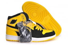 Wholesale Cheap Air Jordan 1 Retro Shoes Yellow/Black