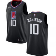 Wholesale Cheap Nike Clippers #10 Jerome Robinson Black NBA Swingman Statement Edition Jersey