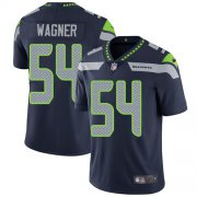 Wholesale Cheap Nike Seahawks #54 Bobby Wagner Steel Blue Team Color Men's Stitched NFL Vapor Untouchable Limited Jersey