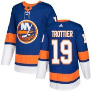 Wholesale Cheap Adidas Islanders #19 Bryan Trottier Royal Blue Home Authentic Stitched NHL Jersey