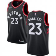 Wholesale Cheap Raptors #23 Fred VanVleet Black Women's Basketball Swingman Statement Edition Jersey