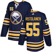 Wholesale Cheap Adidas Sabres #55 Rasmus Ristolainen Navy Blue Home Authentic Youth Stitched NHL Jersey