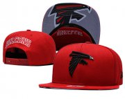Wholesale Cheap Falcons Team Logo Red Adjustable Hat