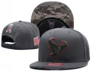 Wholesale Cheap NFL Houston Texans Stitched Snapback Hats 073