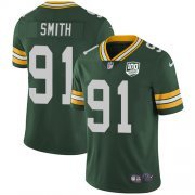 Wholesale Cheap Nike Packers #91 Preston Smith Green Team Color Men's 100th Season Stitched NFL Vapor Untouchable Limited Jersey