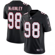 Wholesale Cheap Nike Falcons #98 Takkarist McKinley Black Alternate Men's Stitched NFL Vapor Untouchable Limited Jersey