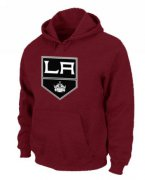 Wholesale Cheap NHL Los Angeles Kings Big & Tall Logo Pullover Hoodie Red