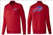 Wholesale Cheap NFL Buffalo Bills Team Logo Jacket Red