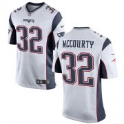 Wholesale Cheap Nike Patriots #32 Devin McCourty White Youth Stitched NFL New Elite Jersey
