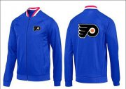 Wholesale Cheap NHL Philadelphia Flyers Zip Jackets Blue-1