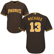 Wholesale Cheap Padres #13 Manny Machado Brown Cool Base Stitched Youth MLB Jersey