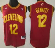 Wholesale Cheap Cleveland Cavaliers #12 Anthony Bennett Revolution 30 Swingman Red Jersey