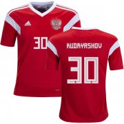 Wholesale Cheap Russia #30 Kudryashov Home Kid Soccer Country Jersey