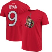 Wholesale Cheap Ottawa Senators #9 Bobby Ryan Reebok Third Name & Number T-Shirt Red