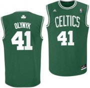 Wholesale Cheap Boston Celtics #41 Kelly Olynyk Green Swingman Jersey