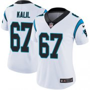 Wholesale Cheap Nike Panthers #67 Ryan Kalil White Women's Stitched NFL Vapor Untouchable Limited Jersey