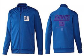 Wholesale Cheap NFL New York Giants Victory Jacket Blue_1
