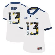 Wholesale Cheap West Virginia Mountaineers 13 Andrew Buie White Fashion College Football Jersey