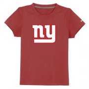 Wholesale Cheap New York Giants Sideline Legend Authentic Logo Youth T-Shirt Red