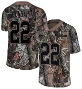 Wholesale Cheap Nike Seahawks #22 Quinton Dunbar Camo Youth Stitched NFL Limited Rush Realtree Jersey