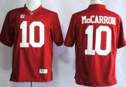Wholesale Cheap Alabama Crimson Tide #10 A.J. McCarron 2014 Red Limited Jersey