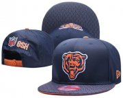 Wholesale Cheap NFL Chicago Bears Stitched Snapback Hats 017