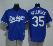 Wholesale Cheap Dodgers #35 Cody Bellinger Blue New Cool Base Stitched MLB Jersey