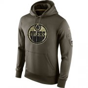 Wholesale Cheap Men's Edmonton Oilers Nike Salute To Service NHL Hoodie