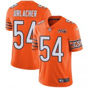 Wholesale Cheap Nike Bears #54 Brian Urlacher Orange Men's 100th Season Retired Stitched NFL Limited Rush Jersey