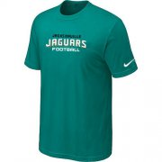 Wholesale Cheap Nike Jacksonville Jaguars Sideline Legend Authentic Font Dri-FIT NFL T-Shirt Lingt Green