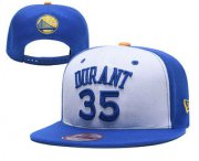 Wholesale Cheap Golden State Warriors #35 Snapback Ajustable Cap Hat