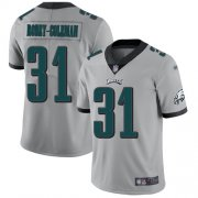 Wholesale Cheap Nike Eagles #31 Nickell Robey-Coleman Silver Men's Stitched NFL Limited Inverted Legend Jersey