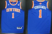 Wholesale Cheap New York Knicks #1 Amare Stoudemire Revolution 30 Swingman 2013 Blue Jersey