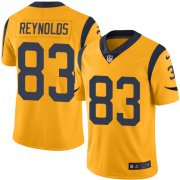 Wholesale Cheap Nike Rams #83 Josh Reynolds Gold Men's Stitched NFL Limited Rush Jersey