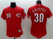 Wholesale Cheap Reds #30 Ken Griffey Red Flexbase Authentic Collection Stitched MLB Jersey