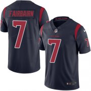 Wholesale Cheap Nike Texans #7 Ka'imi Fairbairn Navy Blue Men's Stitched NFL Limited Rush Jersey
