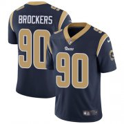 Wholesale Cheap Nike Rams #90 Michael Brockers Navy Blue Team Color Youth Stitched NFL Vapor Untouchable Limited Jersey