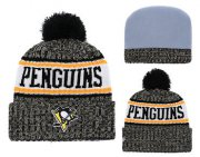 Wholesale Cheap NHL PITTSBURGH PENGUINS Beanies 3