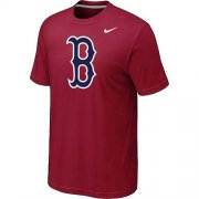 Wholesale Cheap MLB Boston Red Sox Heathered Nike Blended T-Shirt Red
