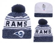 Wholesale Cheap NFL Los Angeles Rams Logo Stitched Knit Beanies 009