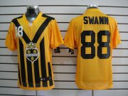 Wholesale Cheap Nike Steelers #88 Lynn Swann Gold 1933s Throwback Men's Embroidered NFL Elite Jersey