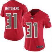 Wholesale Cheap Nike Buccaneers #31 Jordan Whitehead Red Women's Stitched NFL Limited Rush Jersey