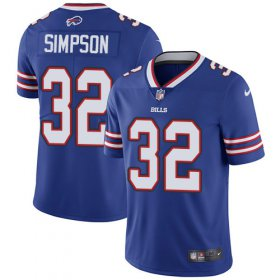 Wholesale Cheap Nike Bills #32 O. J. Simpson Royal Blue Team Color Men\'s Stitched NFL Vapor Untouchable Limited Jersey