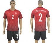 Wholesale Cheap Turkey #2 Ozbayrakli Home Soccer Country Jersey