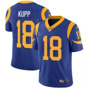 Wholesale Cheap Nike Rams #18 Cooper Kupp Royal Blue Alternate Youth Stitched NFL Vapor Untouchable Limited Jersey