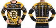 Wholesale Cheap Boston Bruins Men's NHL Ugly Sweater-1