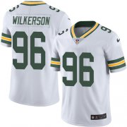 Wholesale Cheap Nike Packers #96 Muhammad Wilkerson White Men's Stitched NFL Vapor Untouchable Limited Jersey