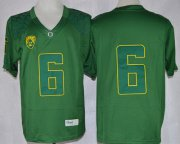 Wholesale Cheap Oregon Ducks #6 Charles Nelson 2013 Dark Green Limited Jersey