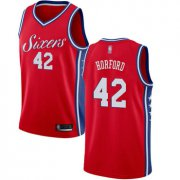 Wholesale Cheap 76ers #42 Al Horford Red Basketball Swingman Statement Edition Jersey