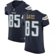 Wholesale Cheap Nike Chargers #85 Antonio Gates Navy Blue Team Color Men's Stitched NFL Vapor Untouchable Elite Jersey
